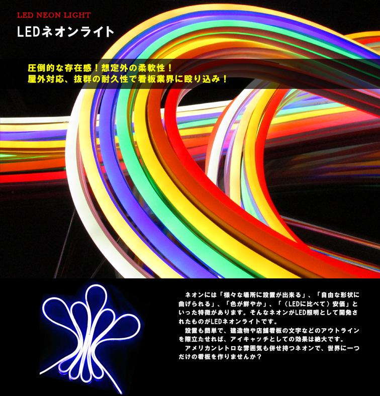 LEDネオンライト 説明