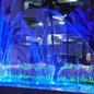 千葉県勝浦市勝浦ホテル三日月様のイルミネーション業務用の施工例